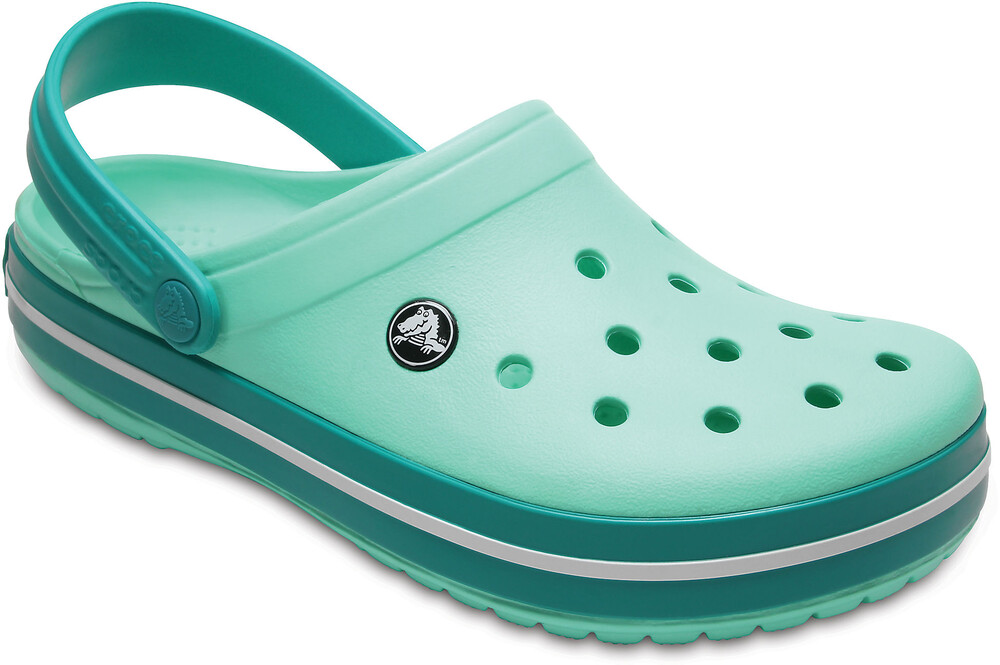 Crocs Crocband Clogs Unisex New Mint/Tropical Teal 36-37 2018 Freizeit Sandalen aj3wt7ow